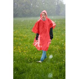 Basic Nature Emergency Poncho, red